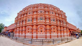 Hawa Mahal, Palace of Winds in Jaipur